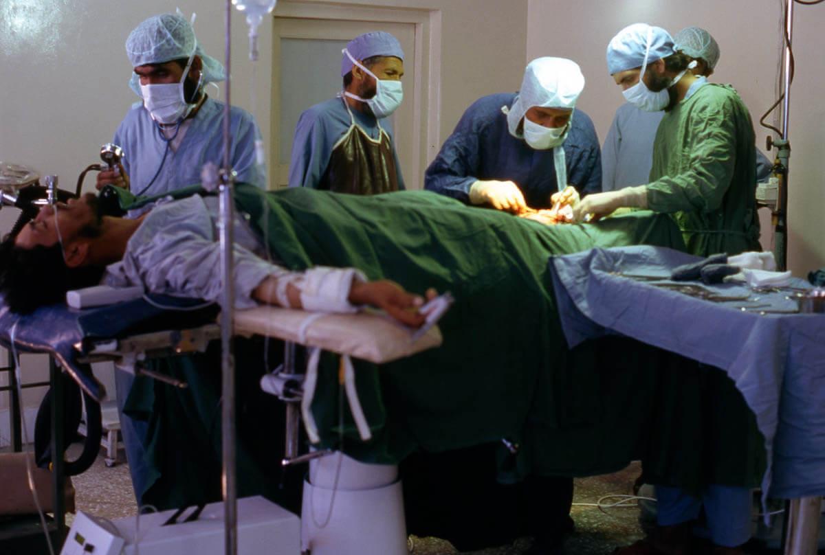 Krankenhaus in Chak-e-Wardak